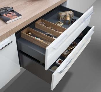 Badmöbel nach Maß Waschtischplatte mit Unterschrank Konsolenträger, ohne Aufsatzwaschtisch - Vorschau 3