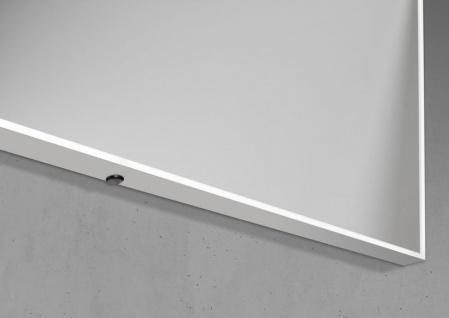 Badspiegel mit LED-Beleuchtung 90x70cm Lichtspiegel