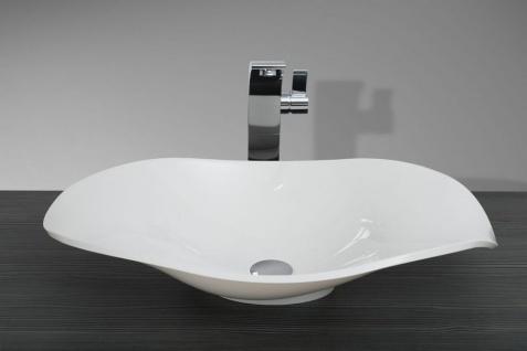 Design Badezimmer Set mit LED Lichtspiegel und Oberschrank - Vorschau 4