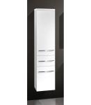Design Hochschrank Bad Badmöbel Maße: H/B/T 155/35/33 cm, komplett vormontiert
