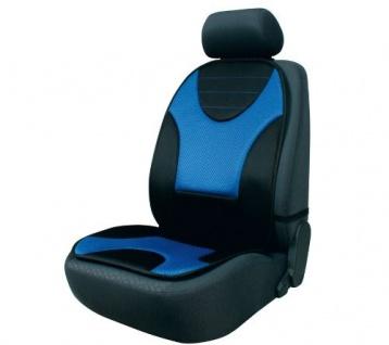 Sitzaufleger Grafis schwarz/blau