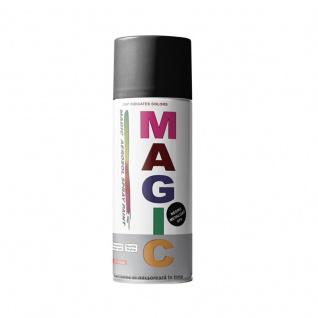 Magic 004 Lackspray Schwarz Matt 450 ml - Vorschau