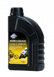 20W-50 Fuchs Silkolene Comp 4 XP Motorrad Motoröl 1 Liter