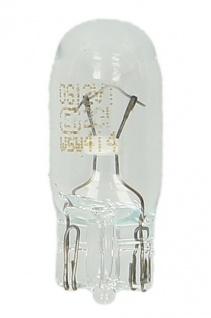 Osram Pure Light 1 987 302 206 Glassockel 12V 5W W5W W2, 1X9, 5D 10er Pack