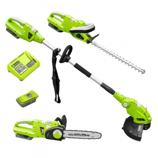 Zipper Gartenpflege Set 40 Volt Akku ZI-GPS40V-Akku