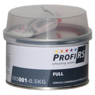 Profirs 0RS001 Full Füllspachtel Spachtel Universal mit Härter Gelb 0.5 kg