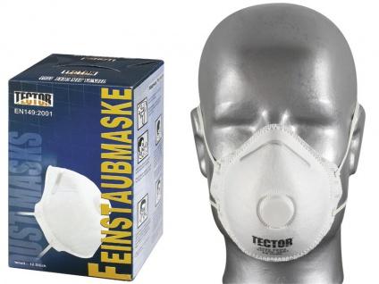 Tector Feinstaubmaske P2 mit Ventil
