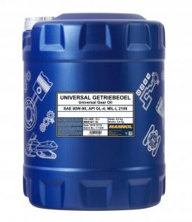 80W-90 Mannol Universal Getriebeöl 10 Liter