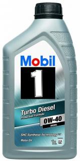 0W-40 Mobil 1 Turbo Diesel 1 Liter