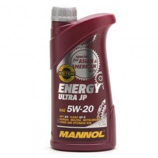5W-20 Mannol Energy Ultra JP Motoröl 1 Liter