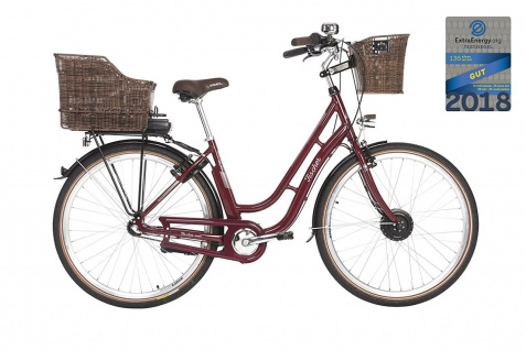 Fischer E-bike City Er 1804 Bordeaux - Vorschau 2