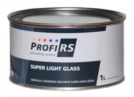 Profirs 0RS006 Super Light Glasfaserspachtel Spachtel mit Härter Gelb 1 Liter
