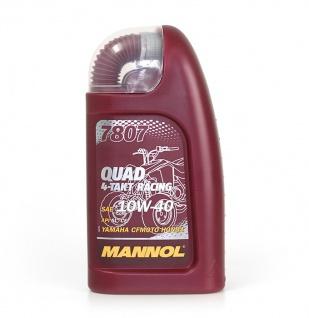 10W-40 Mannol 4-Takt Quad Racing Motoröl 1 Liter