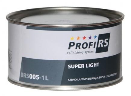 Profirs 0RS005 Super Light Füllspachtel Spachtel mit Härter Beige 1 Liter