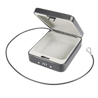 Silverline Stahlkassette mit Zahlenschloss