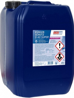 Eurolub Kühlerfrostschutz D-40 Super Konzentrat 20 Liter