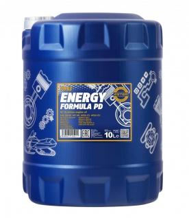 5W-40 Mannol Energy Formula PD Motoröl 10 Liter