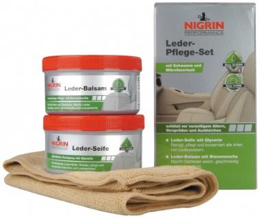 Nigrin Performance Leder Pflege Set 4tlg