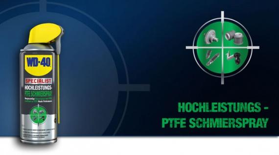 WD-40 Hochleistungs PTFE Schmierspray