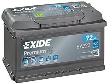 Starterbatterie Exide Premium Autobatterie 12V 72Ah 720A
