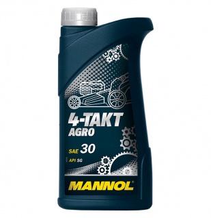 Mannol 4-Takt Agro SAE 30 Rasenmäheröl Motoröl 1 Liter