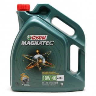 10W-40 Castrol Magnatec A3/B4 Motoröl 5 Liter