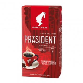 Julius Meinl Kaffee Präsident gemahlen 500 g