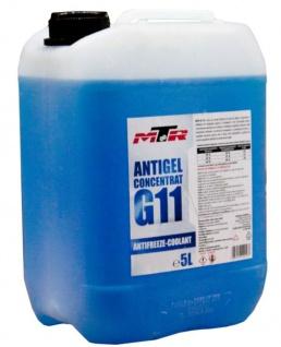 MTR Kühlerfrostschutz Antifreeze Coolant G11 Blau Konzentrat 5 Liter
