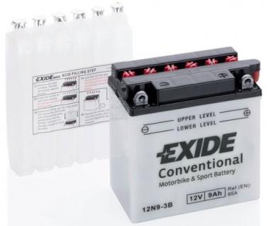 Exide Starterbatterie 12N9-3B 12V 9 Ah