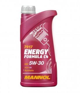 5W-30 Mannol Energy Formula C4 Motoröl 1 Liter