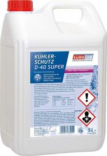 Eurolub Kühlerfrostschutz D-40 Super Konzentrat 5 Liter
