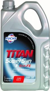 0W-30 Fuchs TITAN SuperSyn F Eco-FE 5 Liter