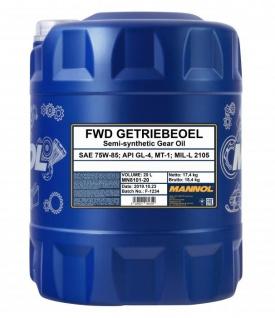75W-85 Mannol FWD Getriebeöl 20 Liter