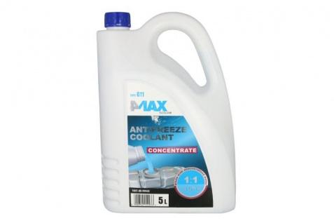 4Max Kühlerfrostschutz Antifreeze Coolant G11 Konzentrat Blau 5 Liter