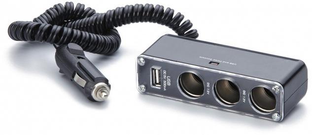 Unitec Auto Steckdose 3fach USB
