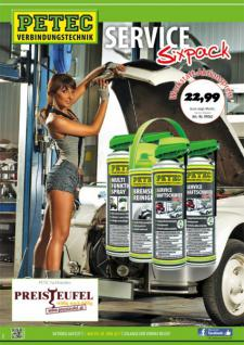 Petec Aktion Service Sixpack