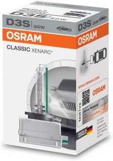 Osram 66340 D3S Original Xenarc 42V 35W PK32D-5