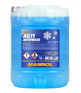 Mannol Kühlerfrostschutz Antifreeze AG11 Longterm 10 Liter