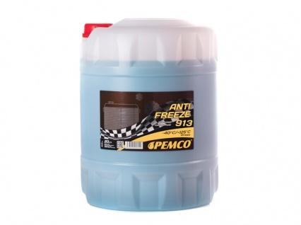 Pemco Kühlerfrostschutz Antifreeze 913 Grün 20 Liter