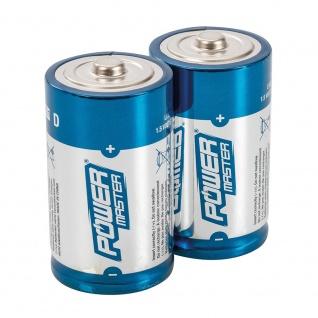 PowerMaster Super Alkali Batterien LR20 Typ D 2er