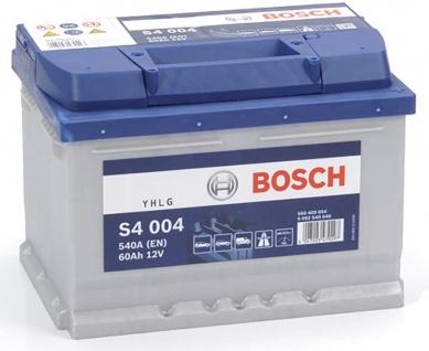 Starterbatterie Bosch S4 004 Autobatterie 12V 60Ah 540A