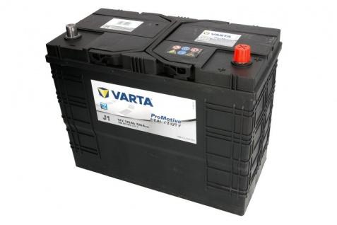 Starterbatterie VARTA J1 ProMotive HD 12V 125Ah 720A