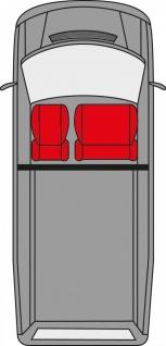 Walser Sitzbezug Set Transporter Universal Como blau - Vorschau 2