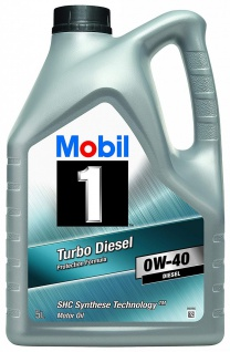 0W-40 Mobil 1 Turbo Diesel 5 Liter