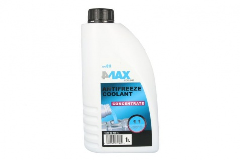 4Max Kühlerfrostschutz Antifreeze Coolant G11 Konzentrat Blau 1 Liter