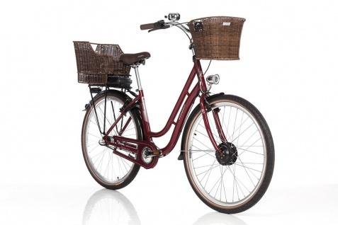 Fischer E-bike City Er 1804 Bordeaux - Vorschau 4