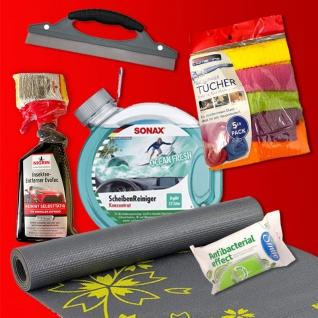 ScheibenReiniger Paket DEAL Insektenentferner Abzieher Microfasertücher