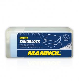 Mannol 9810 Saugblock für die Autowäsche