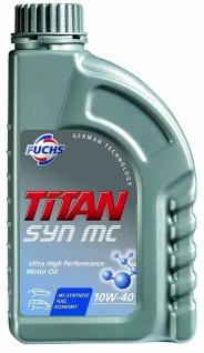 10W-40 Fuchs TITAN Syn MC Motoröl 1 Liter