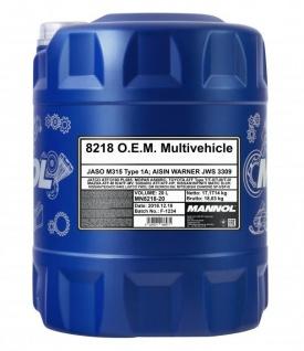 Mannol ATF 8218 O.E.M. Multivehicle 20 Liter